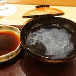 日本料理 太月 - くず切り