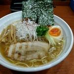 麺厨房 武蔵 - 料理写真:追いにぼしラーメン+煮玉子