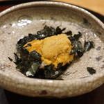 日本料理 太月 - 礼文産むらさきうに、村上水産