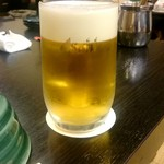 相撲茶屋 寺尾 - 生ビール:600円