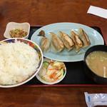 十勝 - 「餃子定食」500円