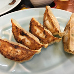 十勝 - 「餃子定食」500円の餃子