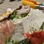 かがみの亭 - かがみの亭(岡山県岡山市中区雄町)おまかせスペシャルサラダ
