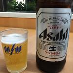 57497157 - 瓶ビール(大)518円税込