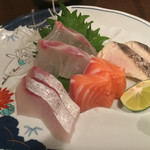 魚料理 沖の瀬 - お造り盛り合わせ