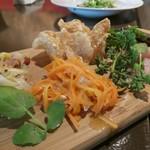 カルネ バル ビアンコ - 料理長おすすめの前菜五種盛り