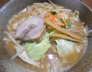 ごん蔵 ラーメン けやき通り店 - 野菜赤味噌ラーメン