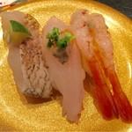 金沢まいもん寿司 - 北陸三昧:780円