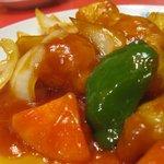 明華園 - 酢豚