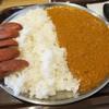 妻田カレー - 料理写真:大盛り+ソーセージ