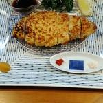 おかめ食堂 - ロース焼き1780円。