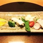 翠山亭倶楽部定山渓 - 夕食:前菜