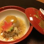 翠山亭倶楽部定山渓 - 夕食:煮物