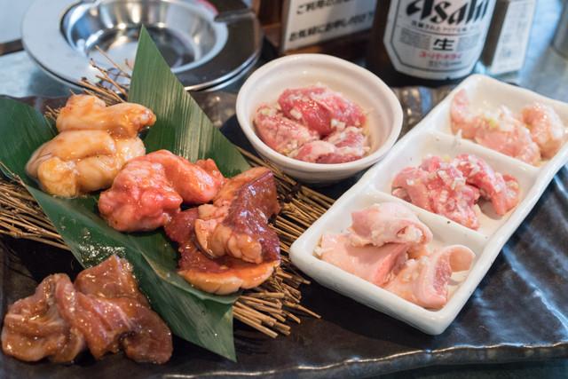 昭和大衆ホルモン 神田店の料理の写真