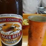57502447 - キリンラガー瓶ビール小400円