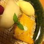 翠山亭倶楽部定山渓 - 夕食:デザート