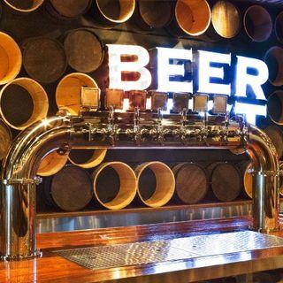 最大15種の生ビールが飲み放題♪