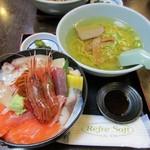 57505424 - 本日の海鮮丼@1,350円