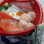 海鮮丼家 丼丸 - 海鮮丼¥500(税別)