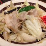 呑み食い処・宗次郎 - 肉野菜炒め