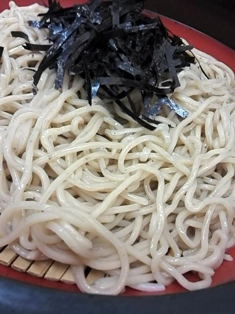 大黒そば - ざる¥400
