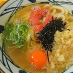 丸亀製麺 - 明太釜玉うどん??