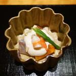 夢うさぎ - 2016.10 白身と海老、柿の白和え