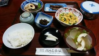 河内屋旅館 - 朝食(10.17)の全容