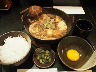 本みやけ 阪急三番街店 - 牛鍋