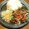 ポーヤイ - 料理写真:カオパットガパオ(950円)