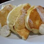 57515050 - リコッタチーズのパンケーキ