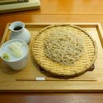 玄挽蕎麦 NAGARA - 「ざる蕎麦」