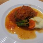 フジマル食堂 - ハンバーグランチ