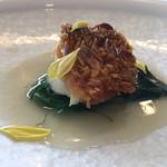Le Ciel - 甘鯛の質は優に2つ星レベル、松かさ焼きも和食の技法で仕上げフレンチとは違うレベル