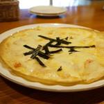 ポットスチル - 餅と明太子のピザ