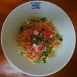 拉麺うえ竹 - 海老和え玉