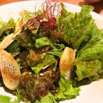 恵水産 - グリーンサラダ
