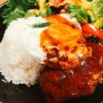 Drip-X-Cafe - ロコモコ丼