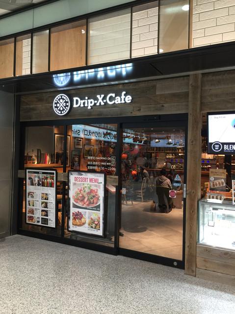 Drip-X-Cafe - 店頭