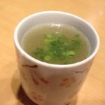 和鶏屋 - H.28.10.11.夜 鶏すーぷ(生姜) 50円税別