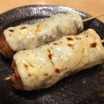 和鶏屋 - H.28.10.11.夜 つくねチーズ(タレ) @180円税別