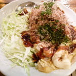 ヒーホー - お好み焼きオムレツ(とんぺい焼き)
