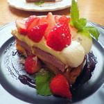 モモカフェ - ベリーのタルト