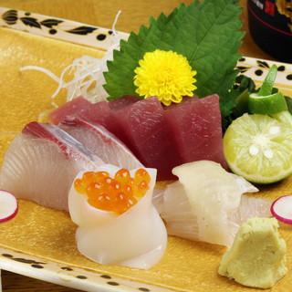 新鮮な旬のお魚