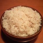 土風炉 - 麦飯