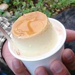平泉寺のソフトクリーム屋さん - プリンちゃん