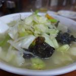 一寸亭 - しっかり野菜なタンメン