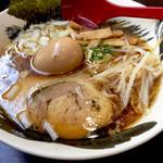 力丸 - 料理写真:中華そば味玉650円
