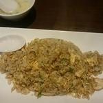中国料理 久田 - 松茸チャーハン、ミニスープ付き