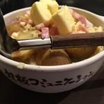 道とん堀 - 北海道ポテトなんとか文字❗️旨いっす(^○^)✨❗️
